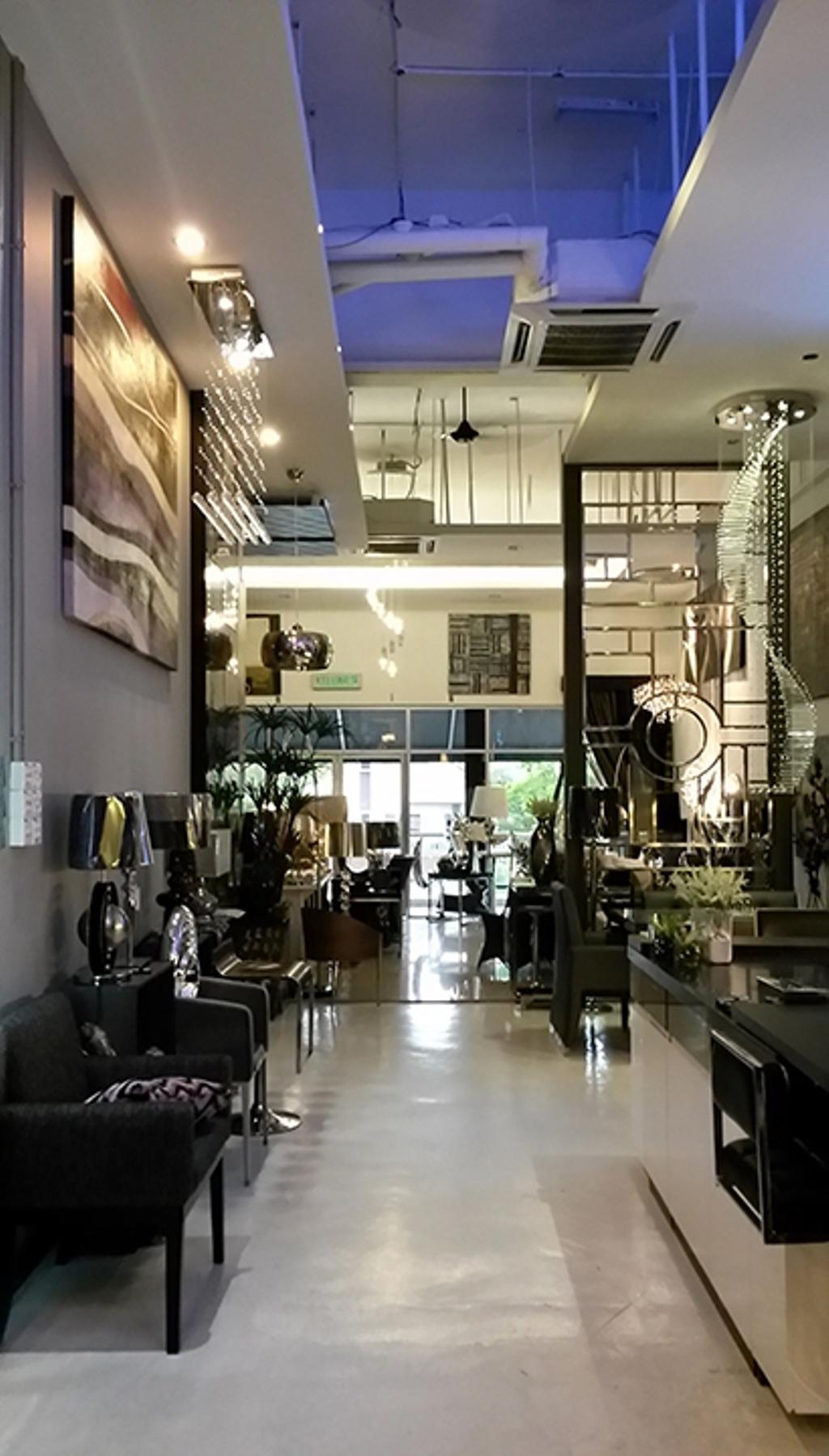 The Arch Showroom, Commercial, Interior Designer, The Arch, Contemporary, Flora, Jar, Plant, Potted Plant, Pottery, Vase