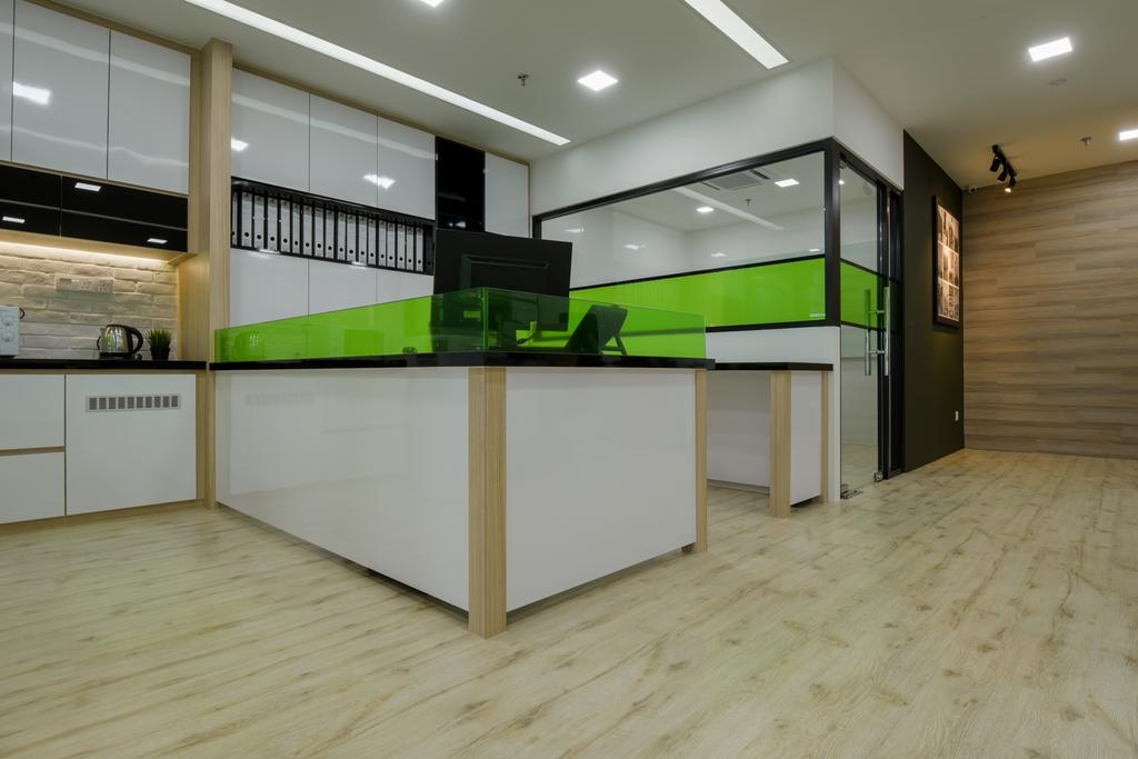 8TRIUM, Commercial, Interior Designer, Posh Living Interior Design, Contemporary, Furniture, Reception, Reception Desk, Table