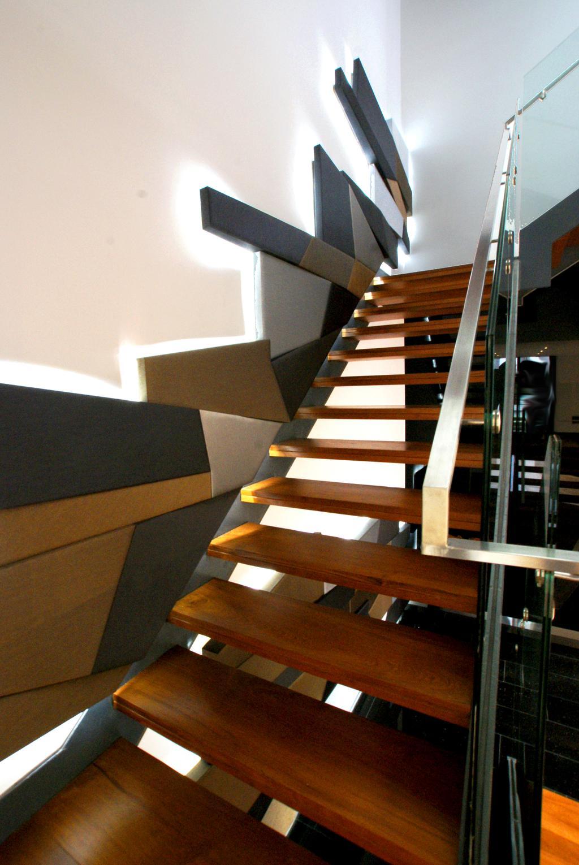 Modern, Landed, 9 Springleaf, Interior Designer, Metamorph Design, Staircase, Wall Art, Wall Decor, Wall Panels, Dining Table, Furniture, Table