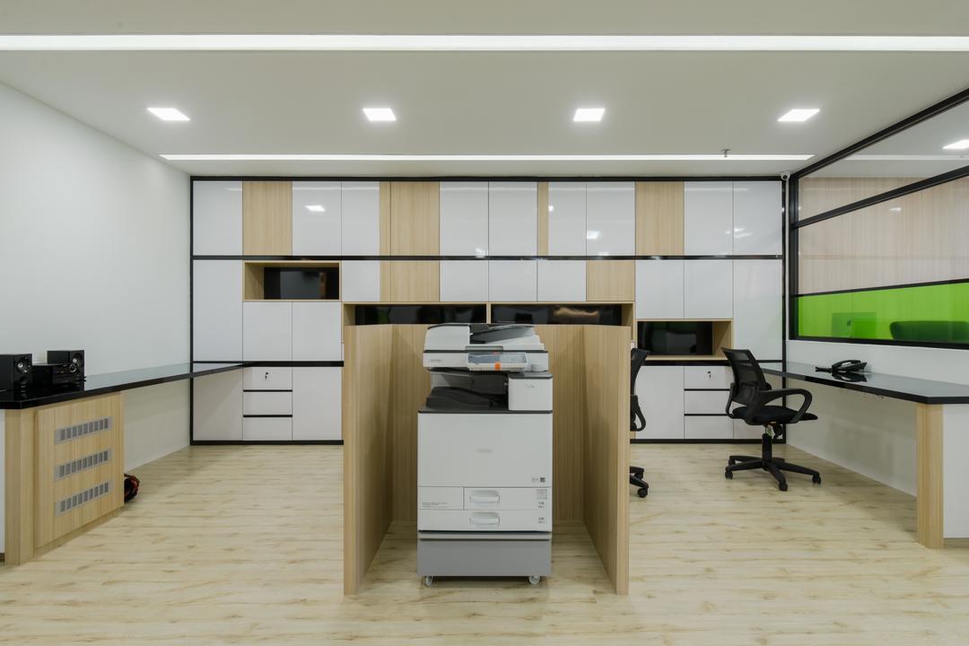 8TRIUM, Posh Living Interior Design, Contemporary, Commercial, Machine, Printer