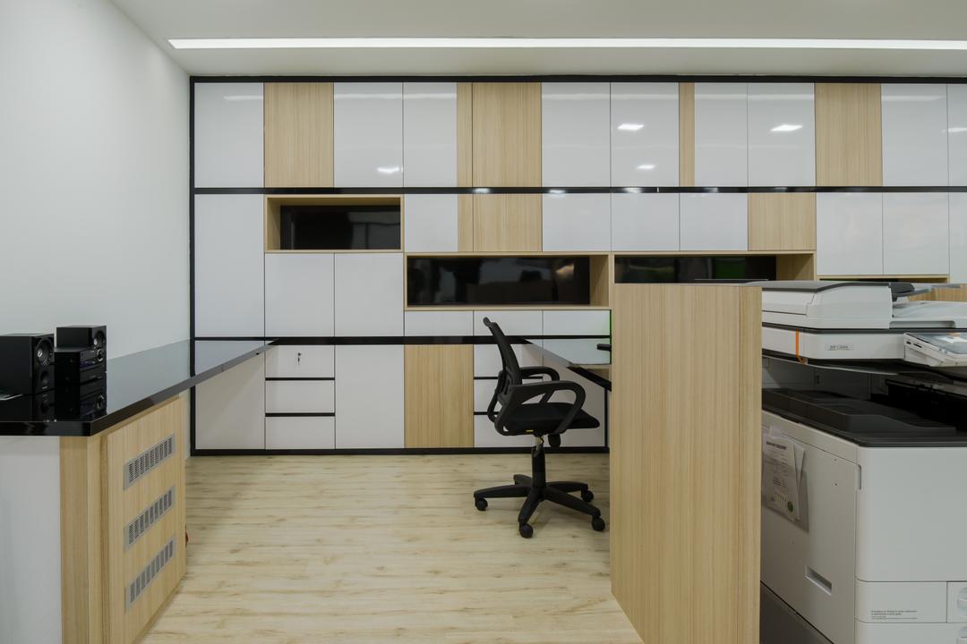 8TRIUM, Posh Living Interior Design, Contemporary, Commercial, Machine, Printer, Chair, Furniture, Indoors, Interior Design, Kitchen, Room