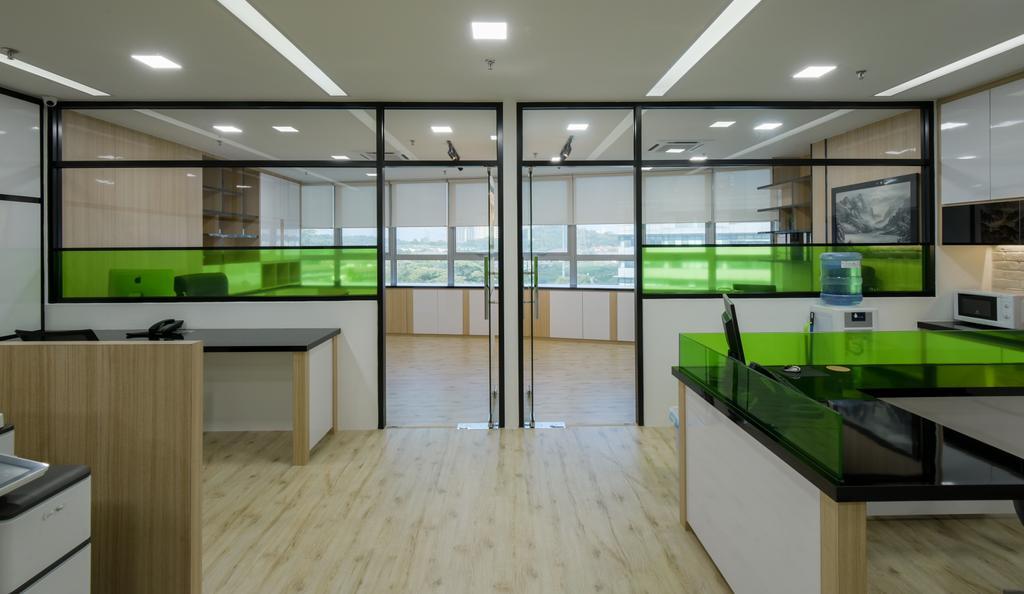 8TRIUM, Commercial, Interior Designer, Posh Living Interior Design, Contemporary, Flooring