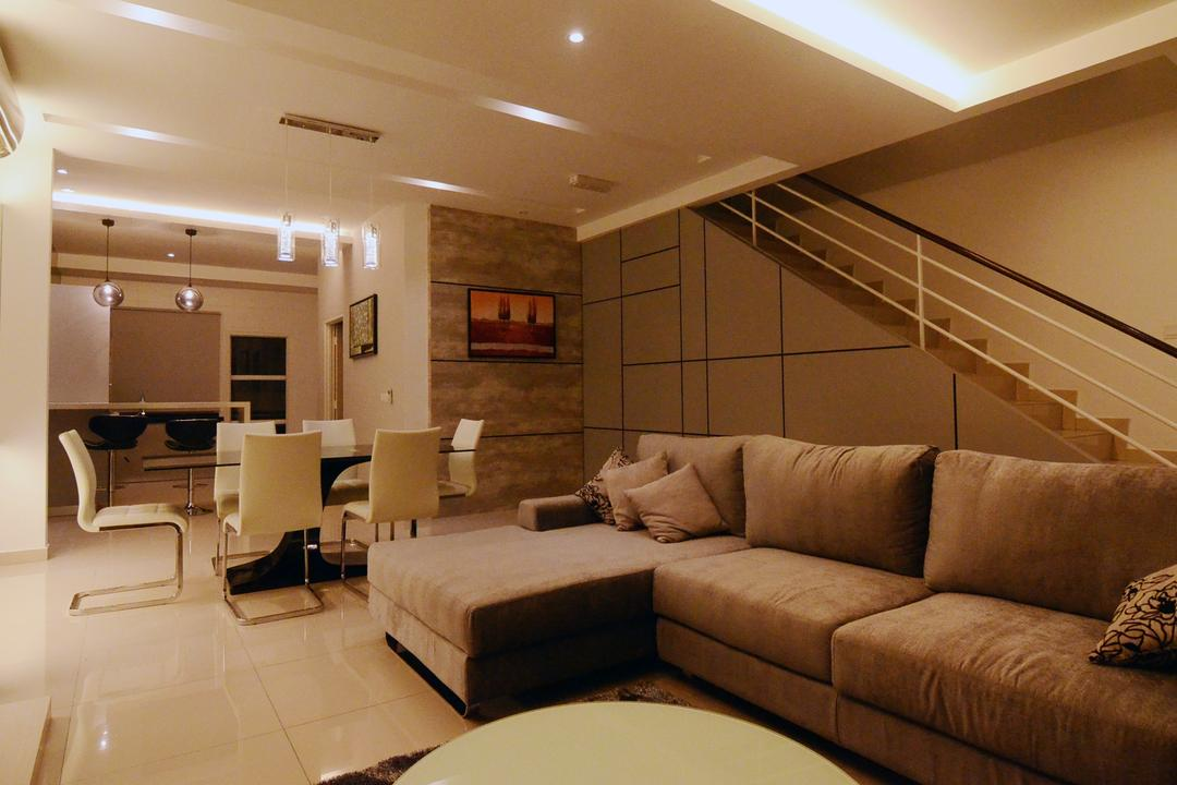 Setia Vista Living Room Interior Design 2