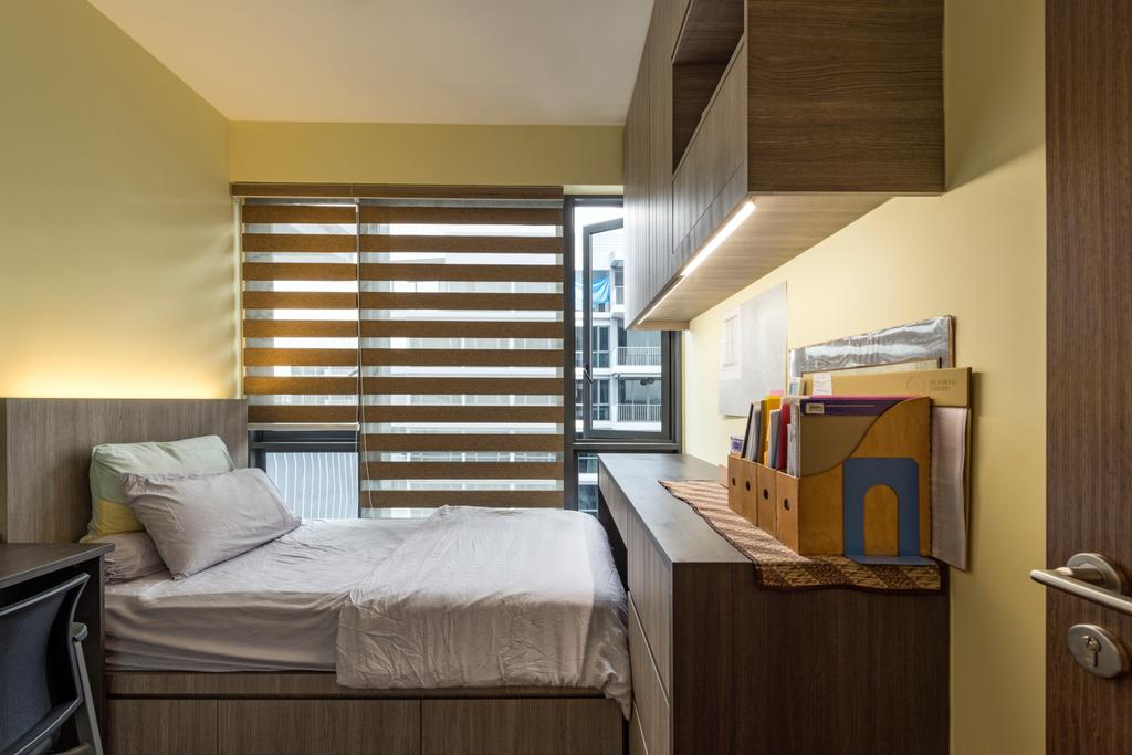 Contemporary, Condo, Bedroom, Parc Centros, Interior Designer, Posh Living Interior Design, Cardboard