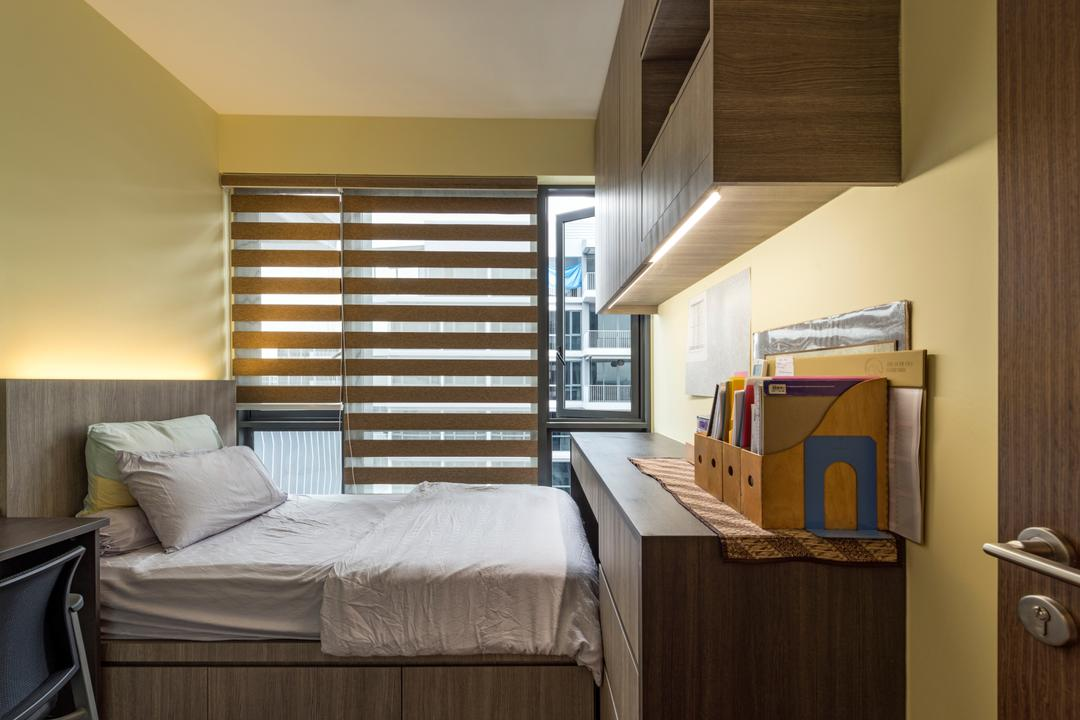 Parc Centros, Posh Living Interior Design, Contemporary, Bedroom, Condo, Cardboard