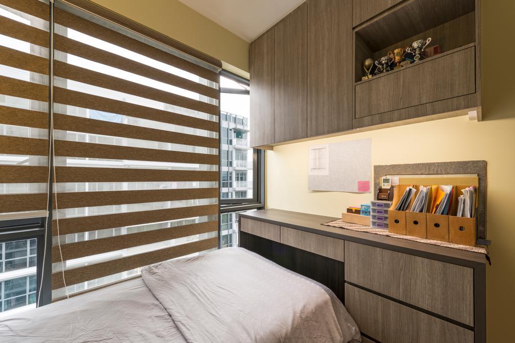 Contemporary, Condo, Bedroom, Parc Centros, Interior Designer, Posh Living Interior Design, Furniture, Sideboard, Siding
