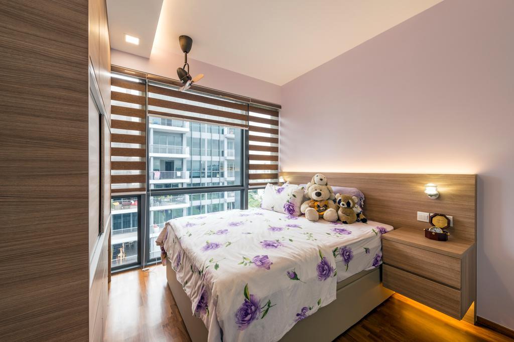 Contemporary, Condo, Bedroom, Parc Centros, Interior Designer, Posh Living Interior Design, Bed, Furniture, Indoors, Interior Design, Room, Balcony