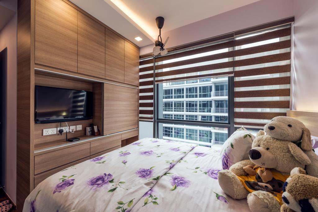 Contemporary, Condo, Bedroom, Parc Centros, Interior Designer, Posh Living Interior Design, Teddy Bear, Toy