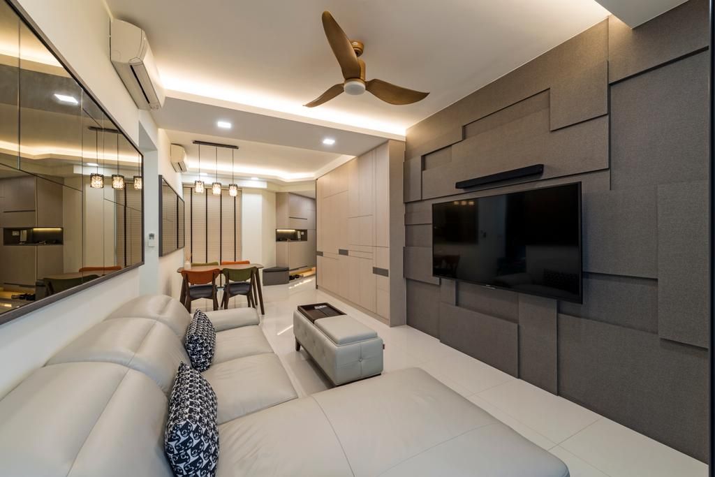 Modern, Condo, Living Room, The Topiary, Interior Designer, Posh Living Interior Design, Contemporary, Indoors, Interior Design