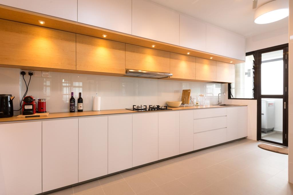 Contemporary, HDB, Kitchen, Keat Hong Link, Interior Designer, Space Atelier