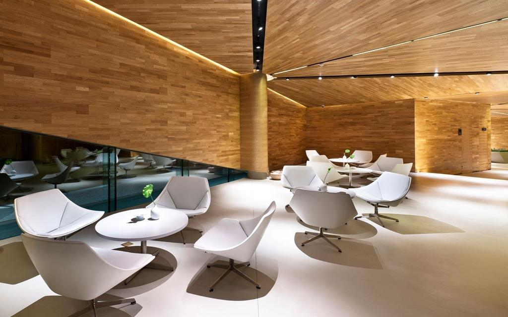 Vanke Triple V Gallery, Commercial, Architect, Ministry of Design, Dining Table, Furniture, Table, Indoors, Interior Design