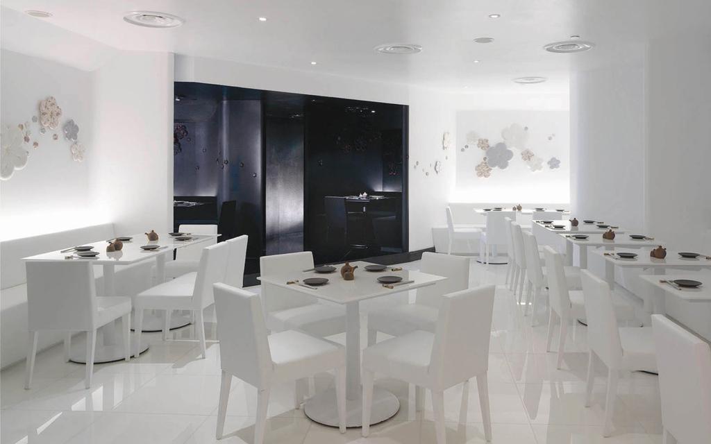 Sho-U Restaurant, Commercial, Architect, Ministry of Design, Transitional, Bathroom, Indoors, Interior Design, Room