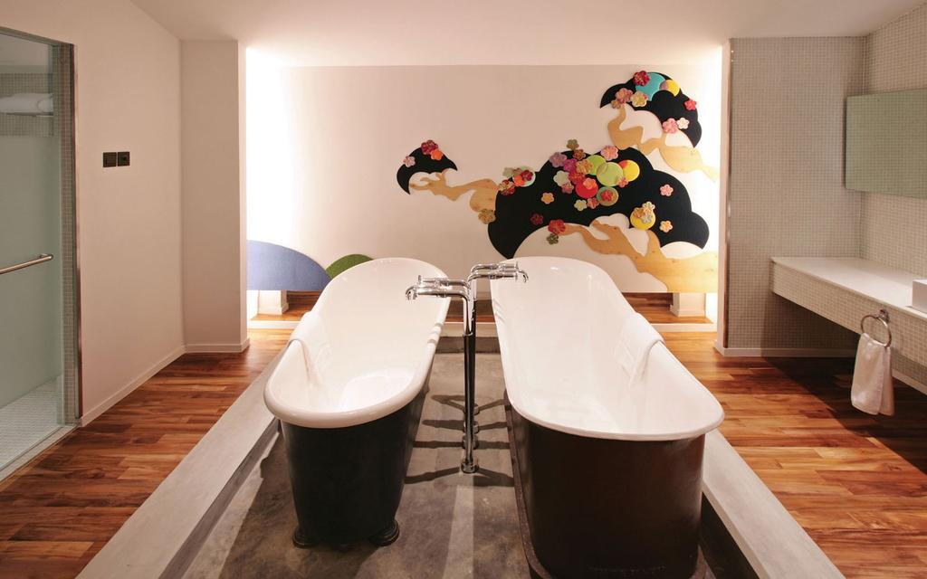 New Majestic Hotel, Commercial, Architect, Ministry of Design, Majestic, Bathroom, Indoors, Interior Design, Room, Chair, Furniture, Dining Room