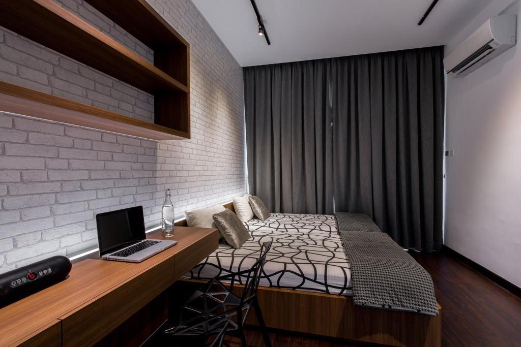 Landed, Bedroom, Tanjung Bungah, Penang, Interior Designer, Nevermore Group, Apartment, Building, Housing, Indoors, Loft, Room, Interior Design, Chair, Furniture
