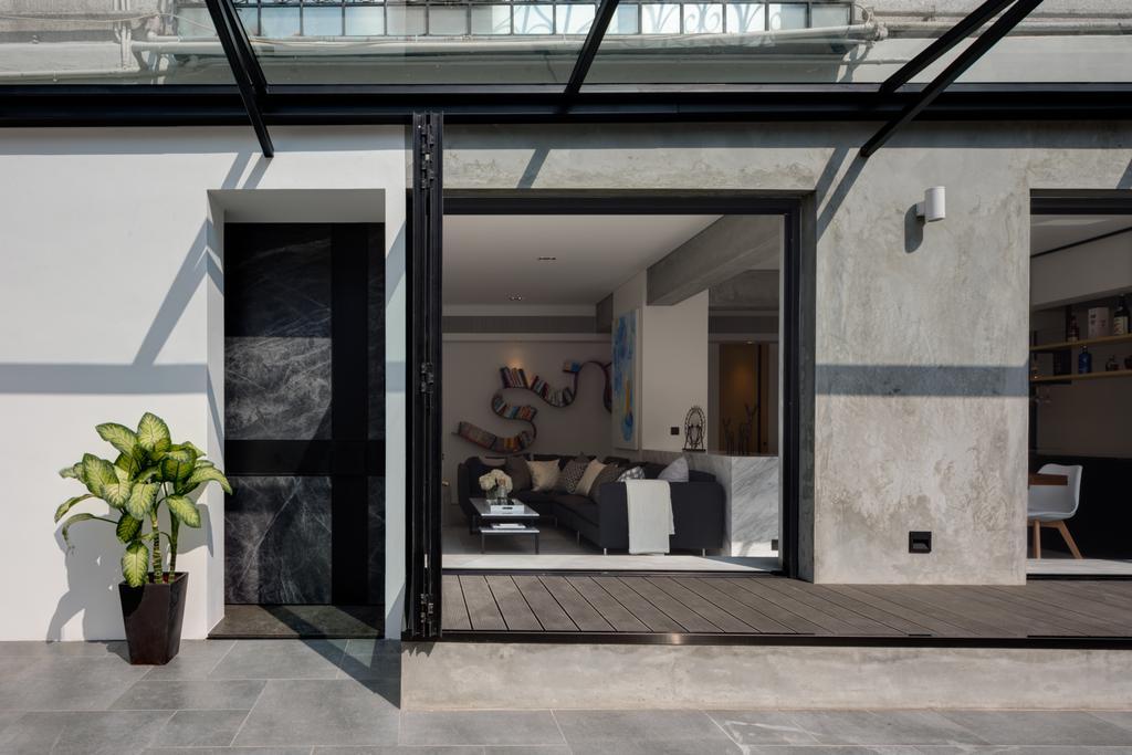 工業, 獨立屋, 花園, 褔新苑, 室內設計師, in Him's Interior Design, 北歐, 摩登