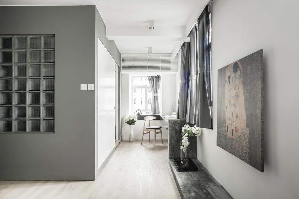 北歐, 私家樓, 客廳, HFC3, 室內設計師, in Him's Interior Design, Corridor