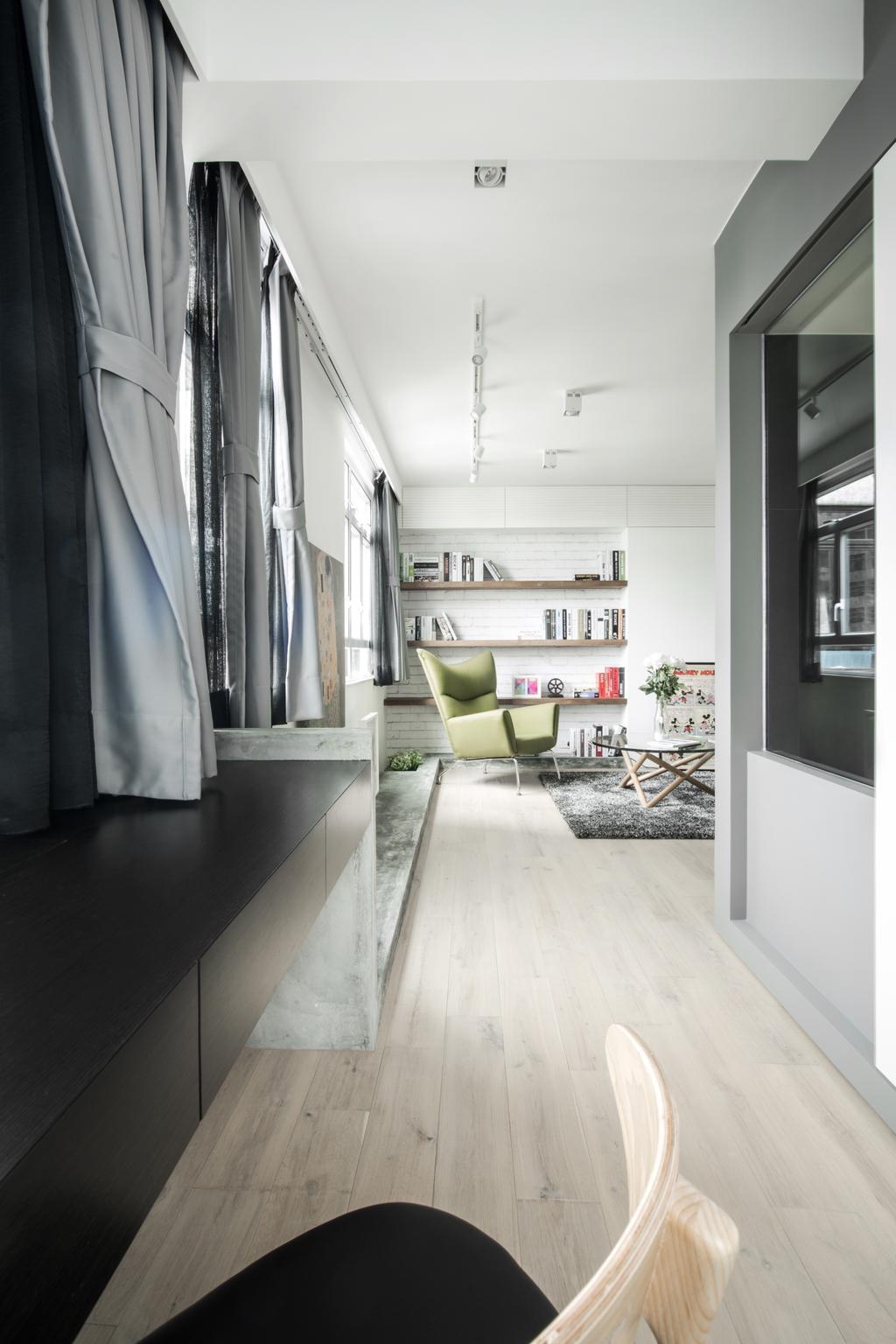 北歐, 私家樓, 客廳, HFC3, 室內設計師, in Him's Interior Design, Indoors, Interior Design
