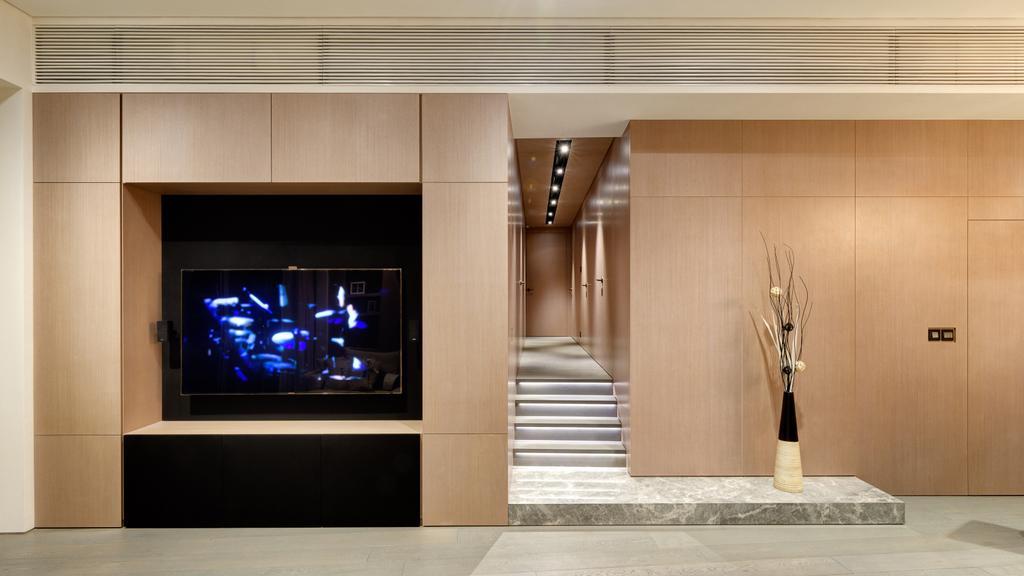 摩登, 私家樓, 客廳, 名家匯, 室內設計師, in Him's Interior Design, 過渡時期, Appliance, Electrical Device, Oven, Indoors, Interior Design