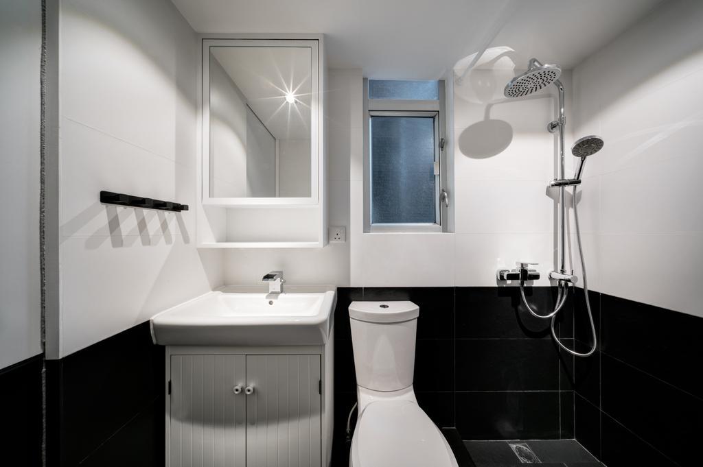 簡約, 私家樓, 浴室, 好順意大廈, 室內設計師, in Him's Interior Design, 過渡時期, Indoors, Interior Design, Room