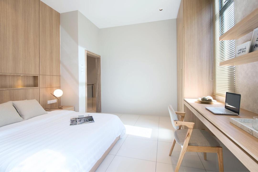 Batu Maung, Penang, Nevermore Group, Bedroom, Landed, Indoors, Interior Design, Bed, Furniture, Plywood, Wood, Room