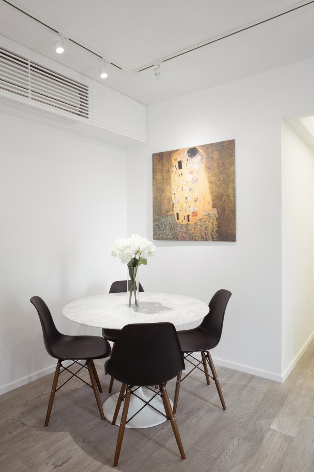 簡約, 私家樓, 飯廳, 維港灣, 室內設計師, in Him's Interior Design, 北歐, Chair, Furniture, Indoors, Interior Design, Room