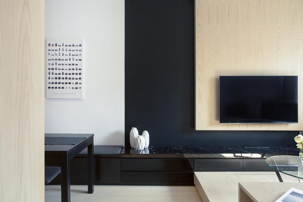 簡約, 私家樓, 客廳, 逸濤灣, 室內設計師, in Him's Interior Design, 摩登, Dining Table, Furniture, Table