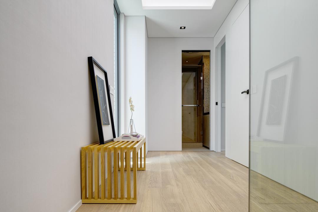 溱岸8號, in Him's Interior Design, 當代, 簡約, 北歐, 客廳, 私家樓, Crib, Furniture, Flooring