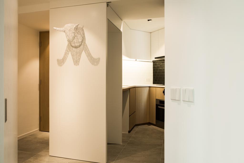簡約, 私家樓, 客廳, 俊傑花園, 室內設計師, in Him's Interior Design, 北歐, Indoors, Interior Design, Flooring