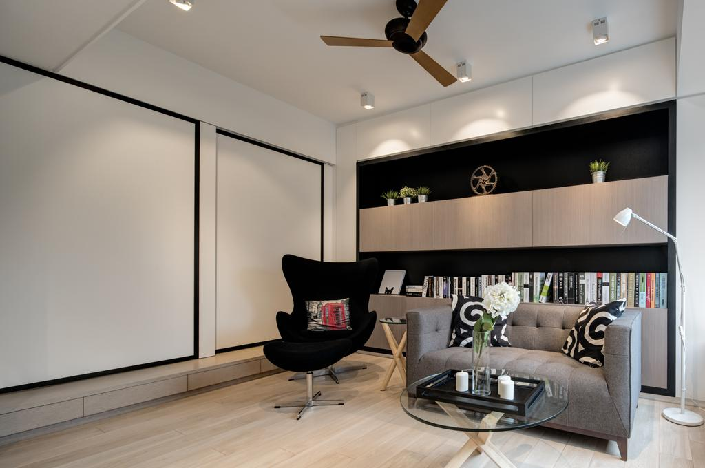 簡約, 私家樓, 客廳, 大坑道1號, 室內設計師, in Him's Interior Design, 當代, Chair, Furniture, Couch, 飯廳, Indoors, Interior Design, Room