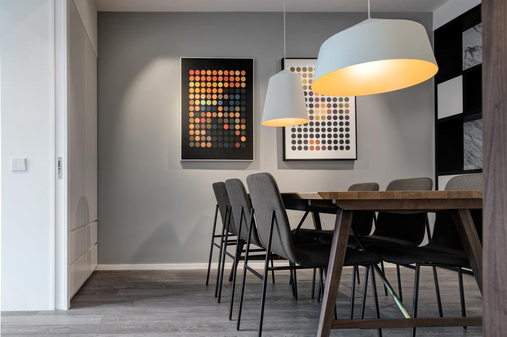 簡約, 私家樓, 飯廳, 海典居, 室內設計師, in Him's Interior Design, 北歐, Chair, Furniture, Indoors, Interior Design, Room
