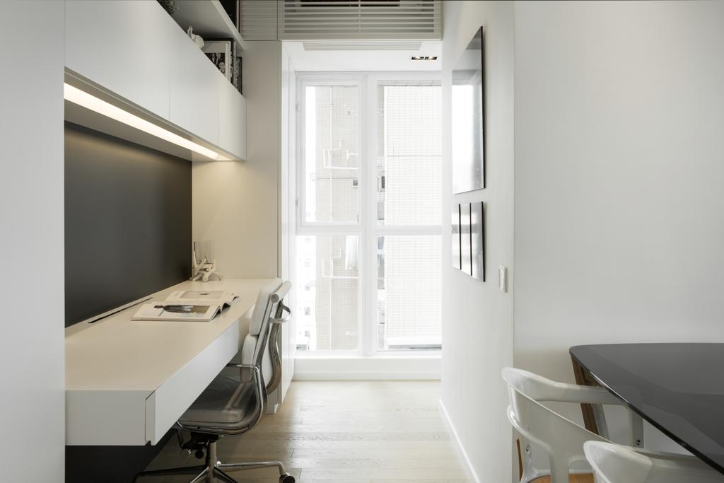 簡約, 私家樓, 睡房, 港麗豪園, 室內設計師, in Him's Interior Design, 北歐, Chair, Furniture