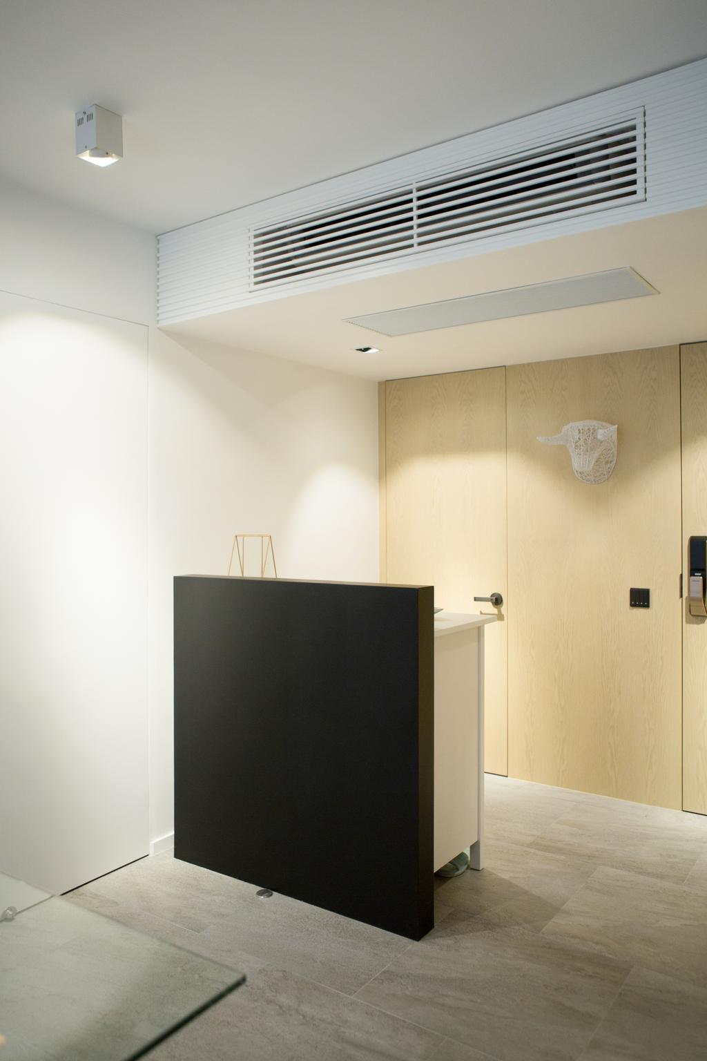 簡約, 私家樓, 飯廳, 黃魚灘, 室內設計師, in Him's Interior Design, 北歐, Electronics, Lcd Screen, Monitor, Screen, Wall