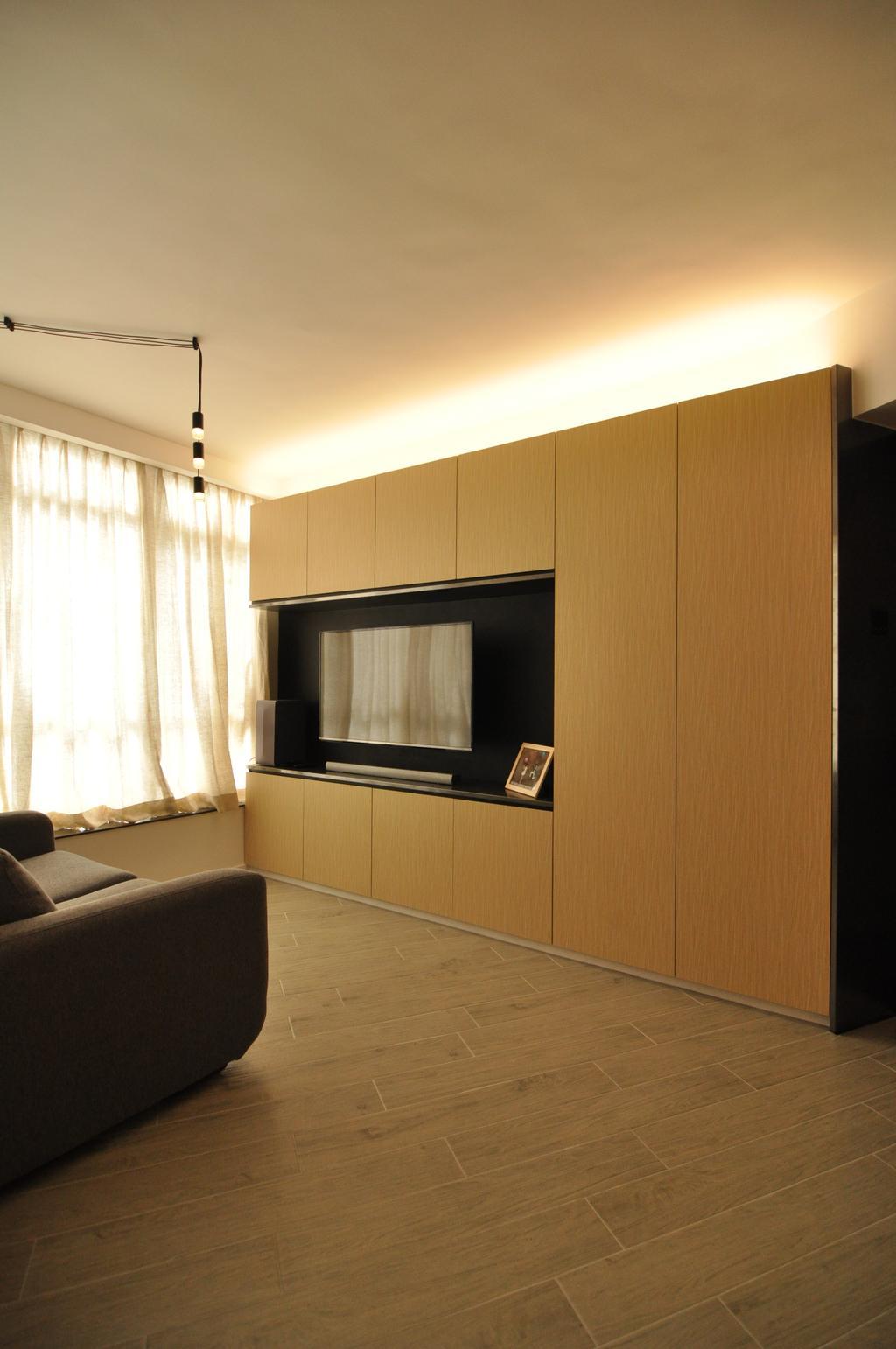 簡約, 私家樓, 客廳, 康怡花園, 室內設計師, Mister Glory, Couch, Furniture, Indoors, Interior Design