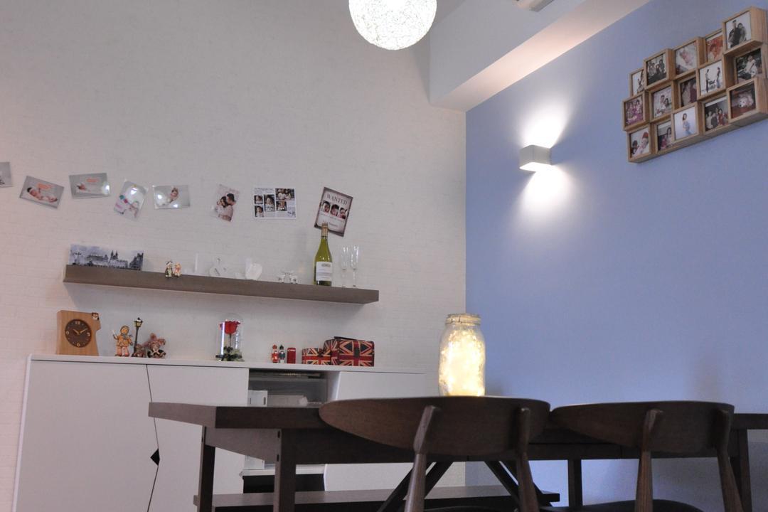 浪澄灣, Mister Glory, 摩登, 飯廳, 私家樓, Chair, Furniture, Couch, Indoors, Interior Design, Room, Bottle