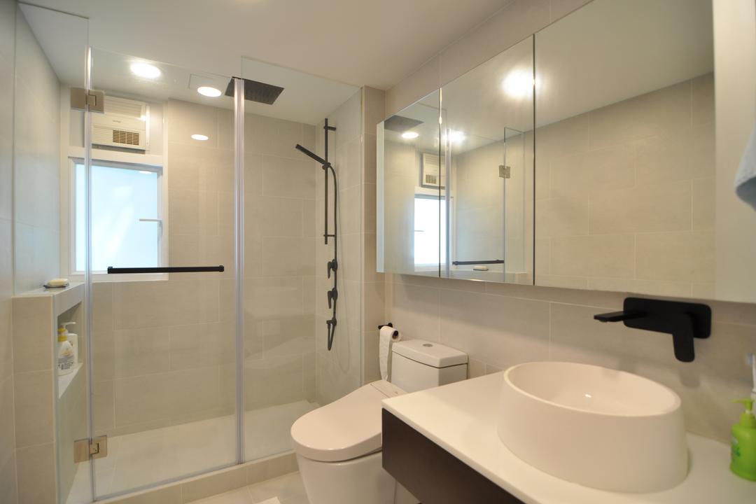 赤柱, Mister Glory, 簡約, 浴室, 私家樓, White Board, Indoors, Interior Design, Room