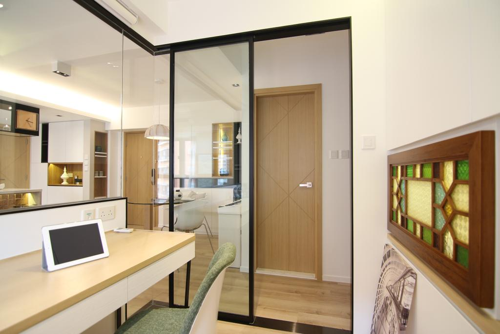 私家樓, 書房, 聚龍居, 室內設計師, Bel Concetto, Indoors, Interior Design