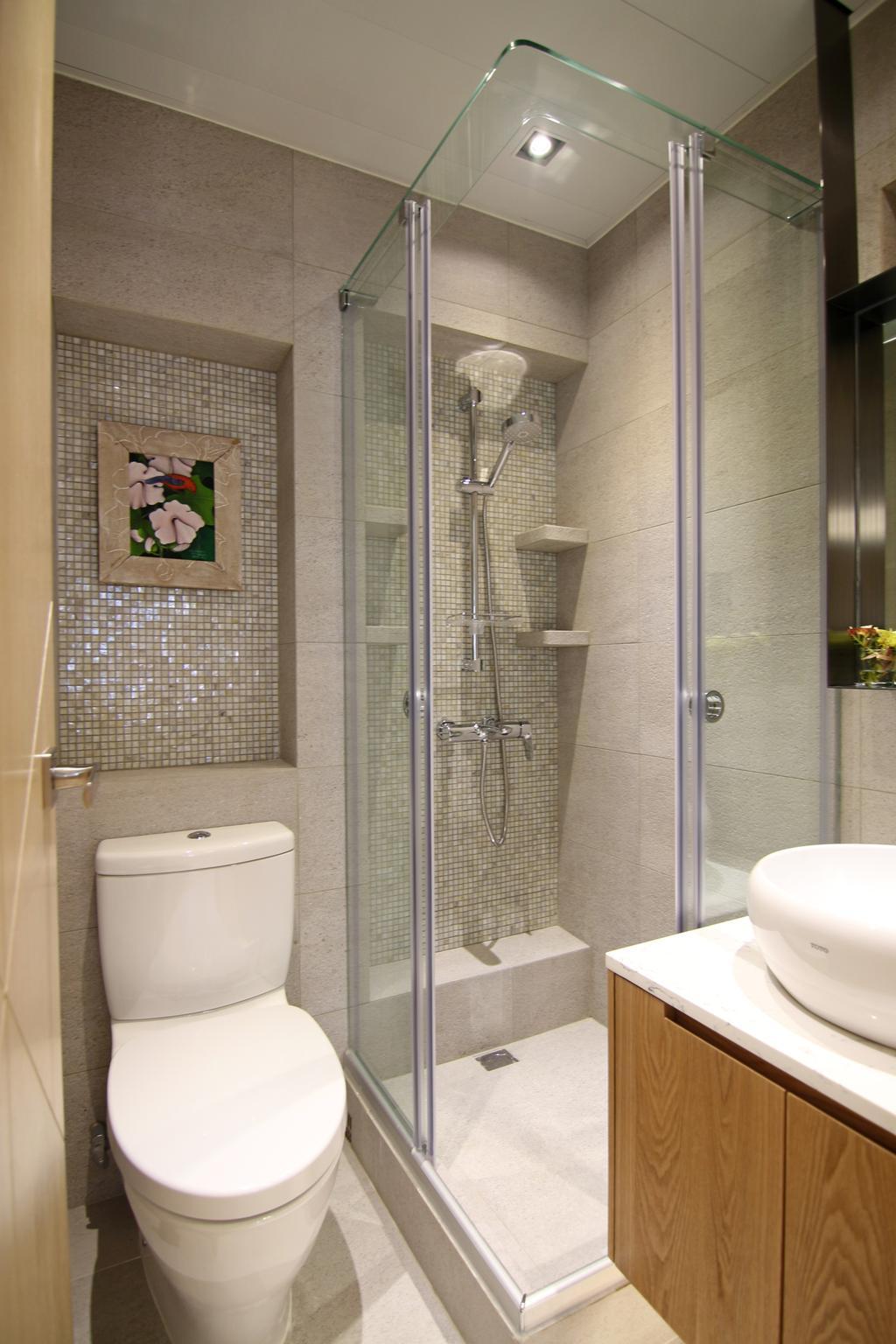 私家樓, 浴室, 聚龍居, 室內設計師, Bel Concetto, Toilet, Indoors, Interior Design, Room