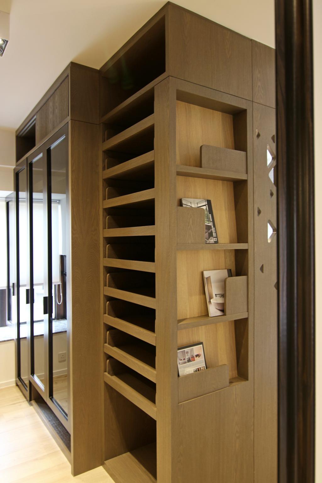 私家樓, 睡房, 聚龍居, 室內設計師, Bel Concetto, Door, Folding Door, Bookcase, Furniture