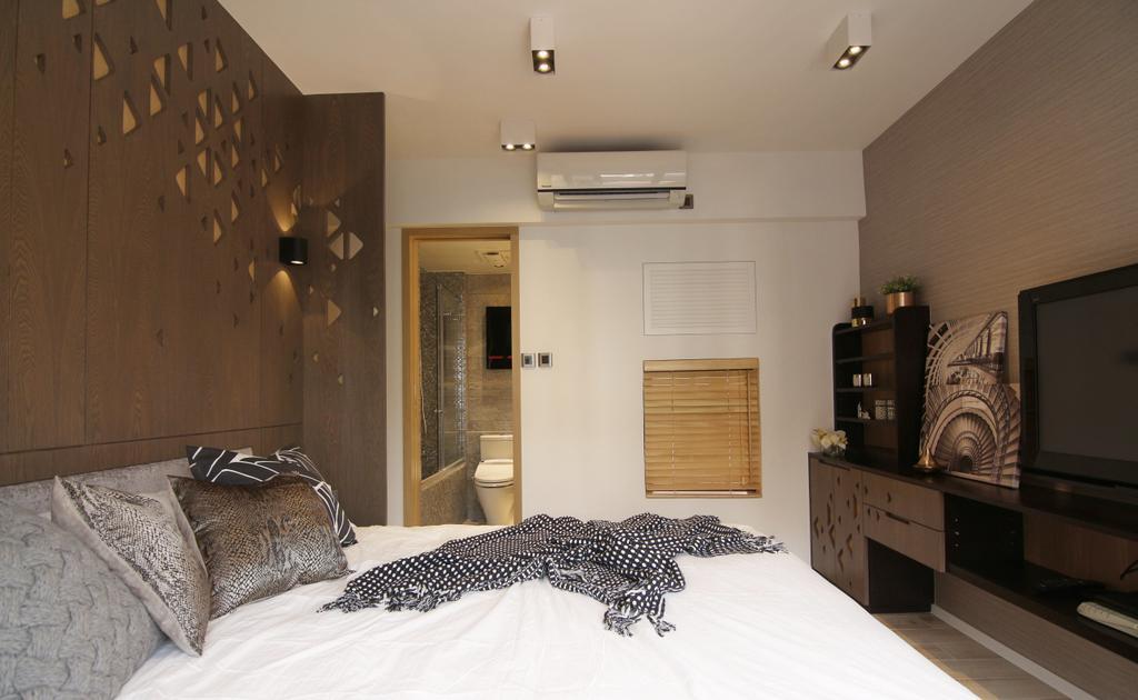 私家樓, 聚龍居, 室內設計師, Bel Concetto, Bed, Furniture, Sideboard, 睡房, Indoors, Interior Design, Room