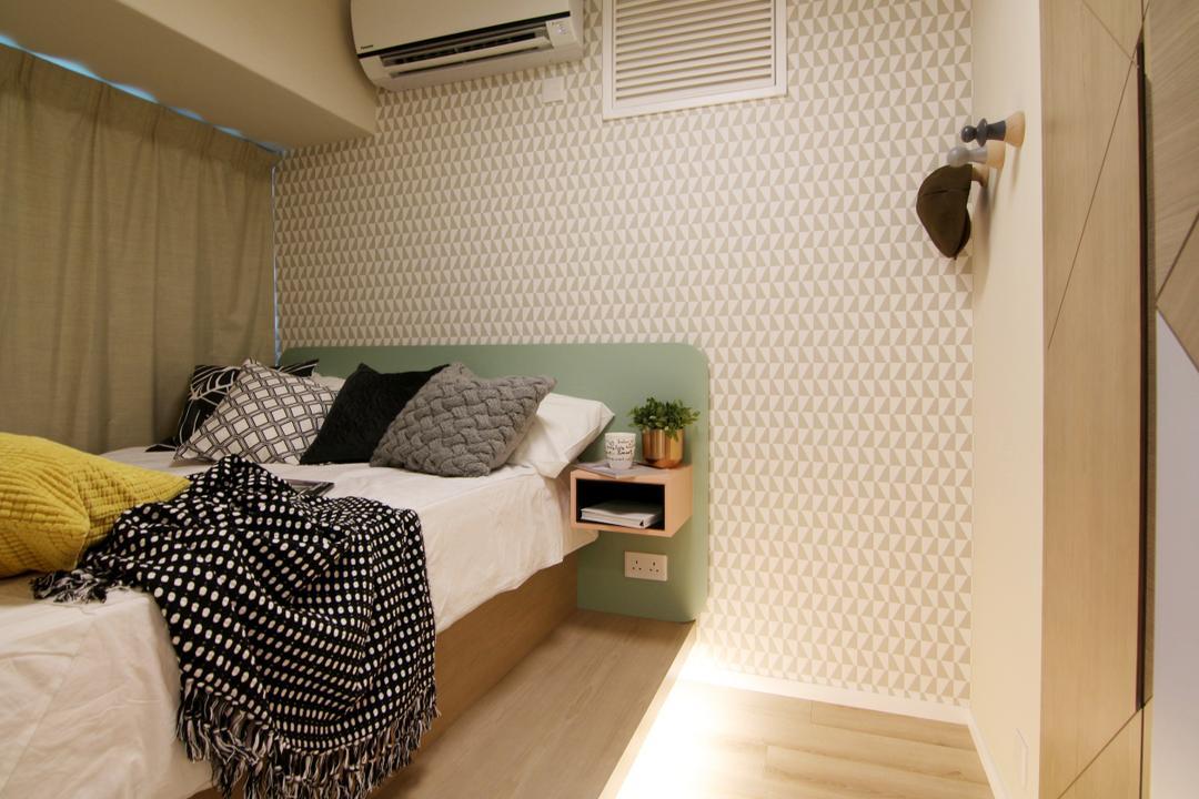 將軍澳中心, Bel Concetto, 睡房, 私家樓, Geometric Wall