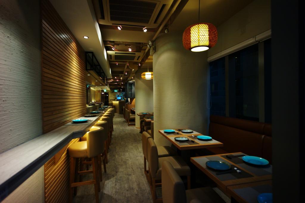 日本餐廳, 商用, 室內設計師, 皓室內設計, 傳統, Corridor, Chair, Furniture