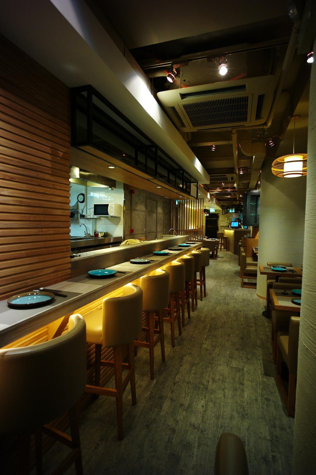 日本餐廳, 商用, 室內設計師, 皓室內設計, 傳統, Diner, Food, Meal, Restaurant