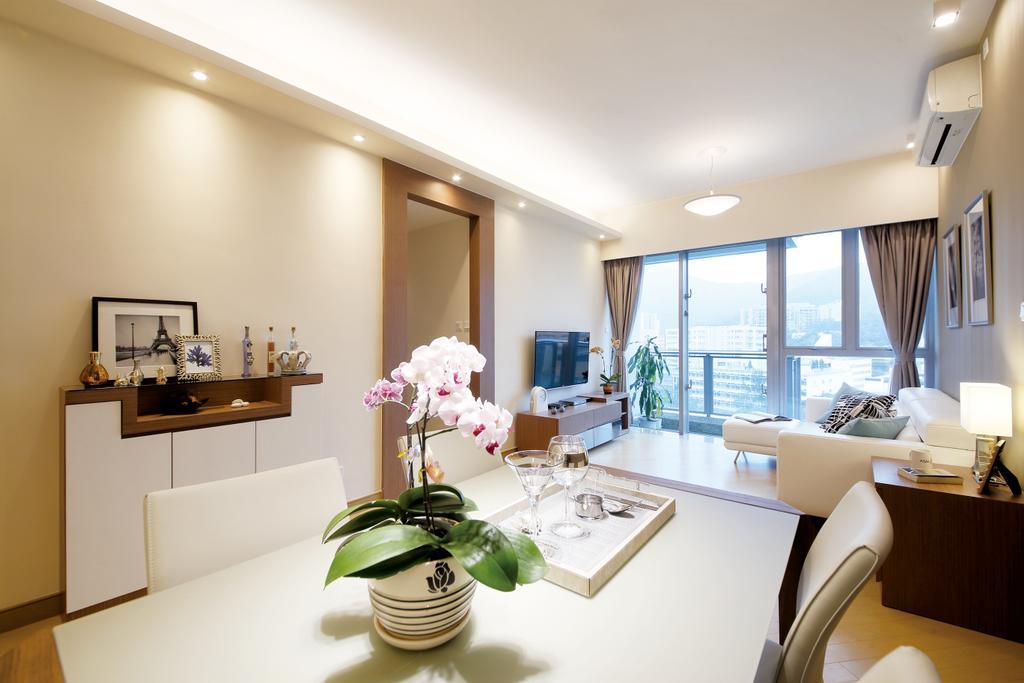 當代, 私家樓, 飯廳, 溱岸8號, 室內設計師, Art Deco Design, Indoors, Interior Design, Room