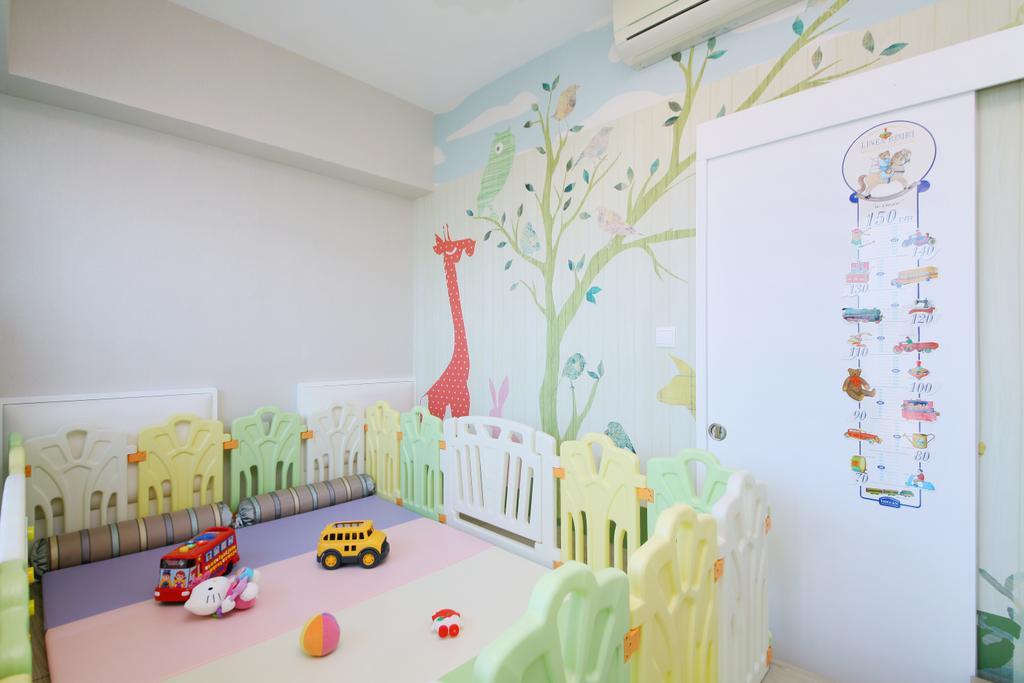 當代, 私家樓, 書房, 銀湖.天峰, 室內設計師, Art Deco Design, Indoors, Nursery, Room