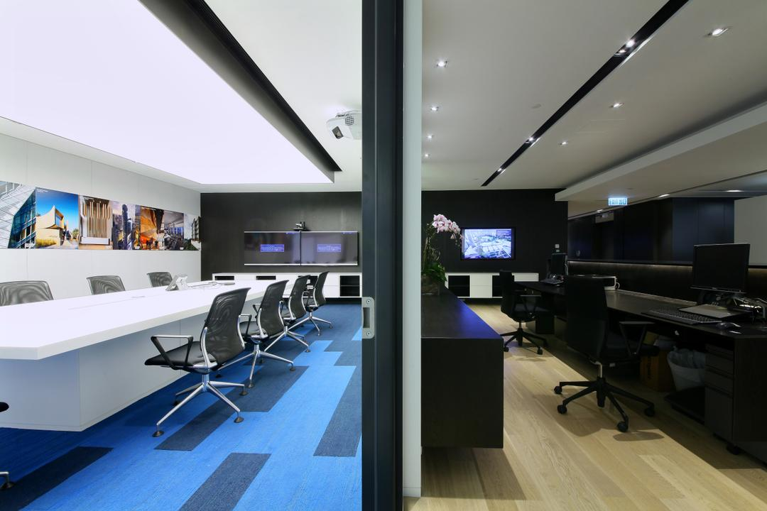 Woods Bagot-High, 泛高設計事務所, 摩登, 商用, Conference Room, Indoors, Meeting Room, Room, Electronics, Entertainment Center, Home Theater, Chair, Furniture