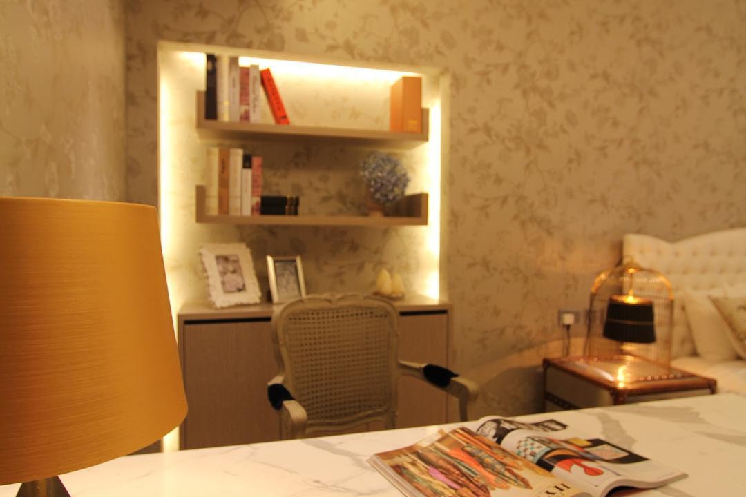 淺水灣, 泛高設計事務所, 傳統, 摩登, 書房, 獨立屋, Chair, Furniture, Bottle