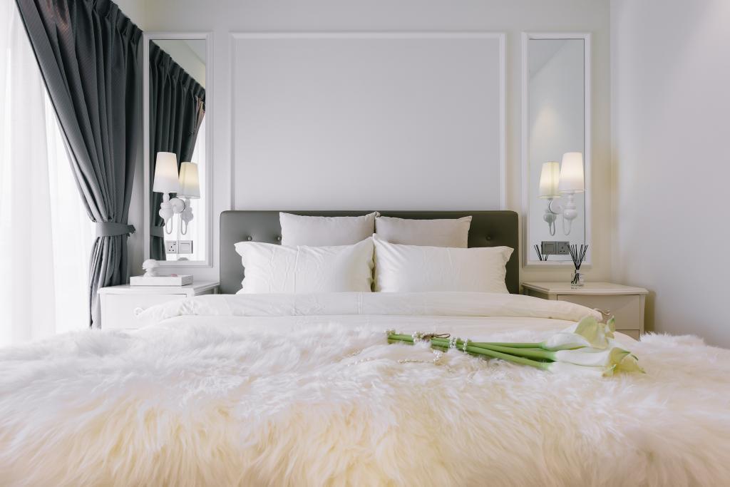 Vintage, Condo, Bedroom, Riversail, Interior Designer, Mr Shopper Studio, Bed, Furniture, Indoors, Interior Design, Room