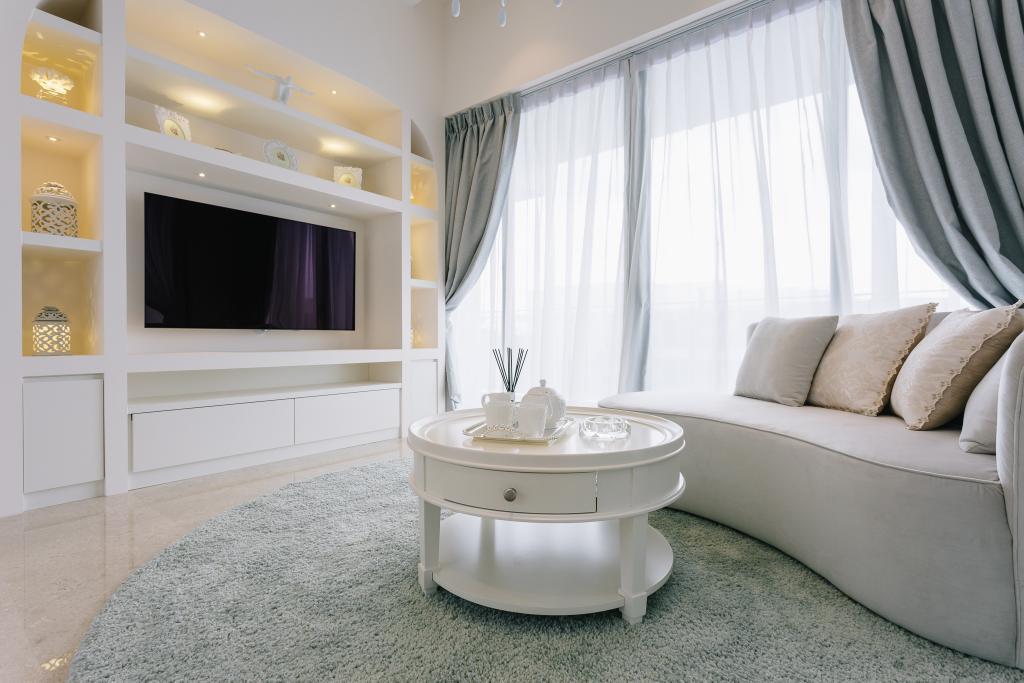 Vintage, Condo, Living Room, Riversail, Interior Designer, Mr Shopper Studio, Indoors, Room
