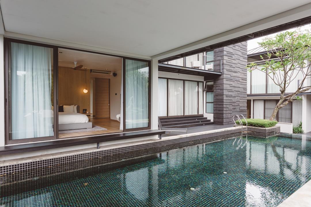 Bishopgate, Mr Shopper Studio, Contemporary, Bedroom, Landed, Building, House, Housing, Villa, Hotel, Pool, Resort, Swimming Pool, Water