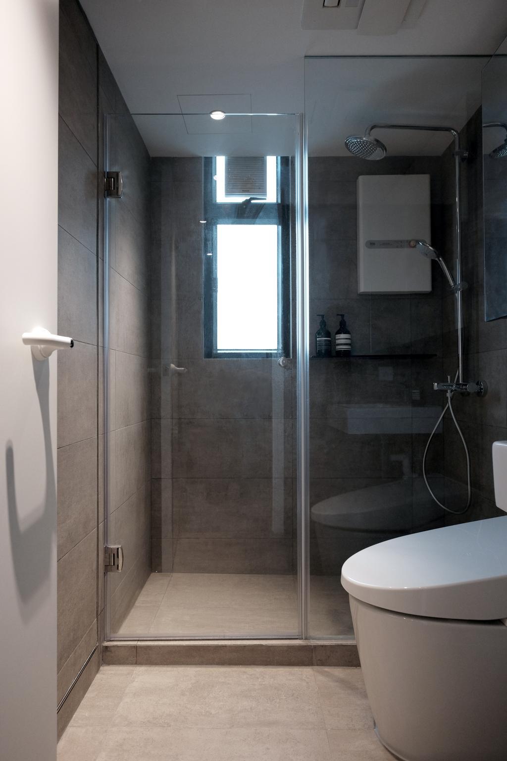 簡約, 私家樓, 浴室, 金閣豪園, 室內設計師, Studio Roof, 北歐